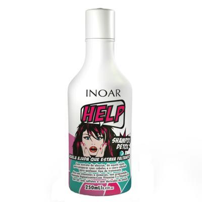 Imagem 1 do produto Inoar Shampoo Detox Help - Shampoo Hidratante - 250ml