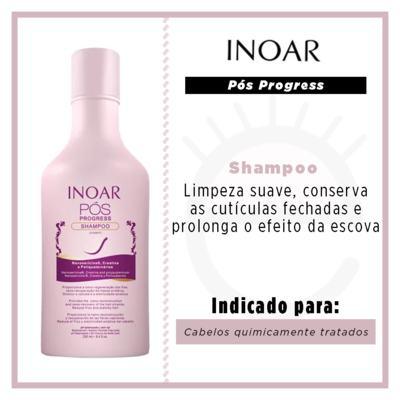 Imagem 3 do produto Inoar Pós Progress - Shampoo - 250ml