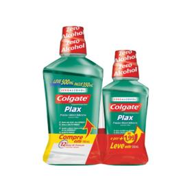Enxaguante Plax - 500ml | Leve 500 Pague 350Ml E Por Mais 1.99 Leve Outro de 250Ml