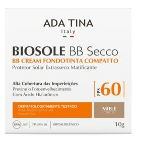 Ada Tina Biosole BB Secco Base Compacta FPS 60 - Ada Tina Biosole BB Secco Base Compacta FPS 60 10g - 35 Miele