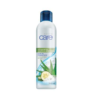 Loção de Limpeza Facial Refrescante Pepino e Aloe Vera