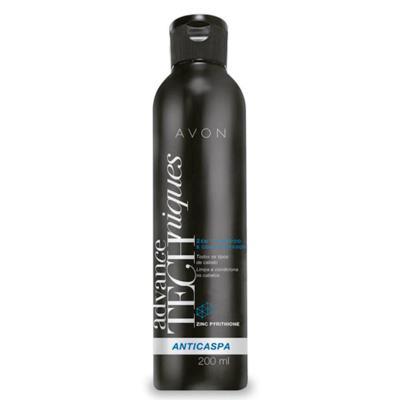 Imagem 2 do produto Shampoo e Condicionador 2 em 1 Advance Techniques Anticaspa - 200ml -