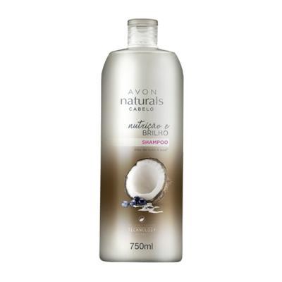 Imagem 1 do produto Shampoo Naturals Cabelo Nutrição e Brilho 750ml -