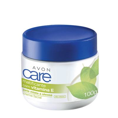 Imagem 1 do produto Creme Facial Avon Care Matificante - 100g