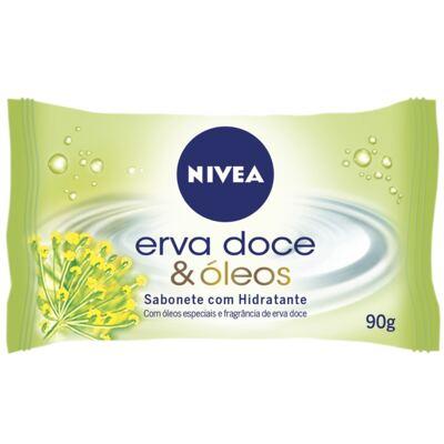 Imagem 1 do produto Sabonete Nivea Erva Doce & Óleos 90g