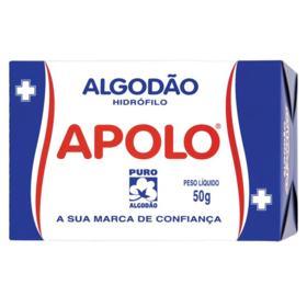 Algodão em Rolo Apolo - Hidrófilo | 50g