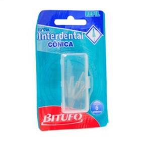 Escova Interdental Bitufo Cônico - Refil | 6 unidades