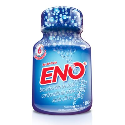 Imagem 2 do produto Sal de Frutas Eno - frasco com 100g de pó efervescente de uso oral, tradicional -