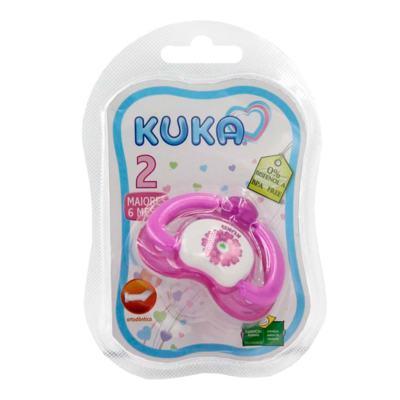 Chupeta Ortodôntica Kuka Lovely Nº2 - Rosa Sortidas | 1 unidades