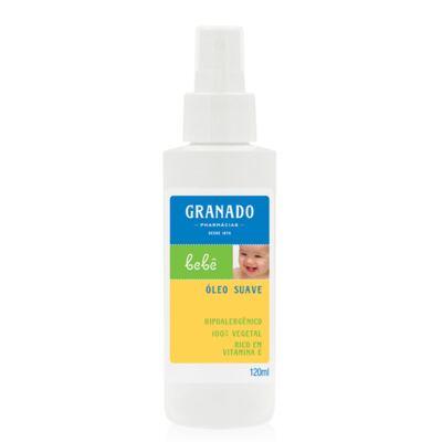 Imagem 4 do produto Kit com 1 sabonete + 1 Loção Hidratante + 1 Óleo Suave para bebê Tradicional - Granado