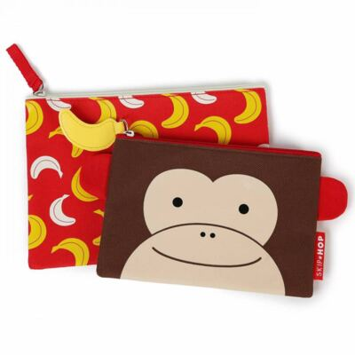 Kit Necessaires Zoo Macaco - Skip Hop