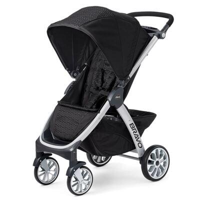Imagem 2 do produto Bravo Travel System: Carrinho de bebê Bravo Ombra + Poltrona Keyfit Night (0m+) - Chicco