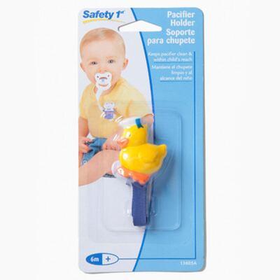 Imagem 1 do produto Prendedor de Chupeta Patinho (6m+) -  Safety 1st
