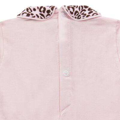 Imagem 4 do produto Body longo com Mijão para bebê em algodão egípcio Oncinha - Roana - 02532023220 CONJUNTO BODY GOLA + MIJÃO ONCINHA -P