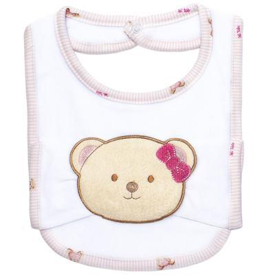 Imagem 1 do produto Babador com fraldinha de boca para bebe Kedy Bear - Classic for Baby