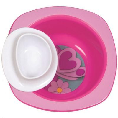 Imagem 1 do produto Tigela Dip It Rosa (9m+) - First Years
