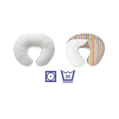 Imagem 6 do produto Capa para Almofada Boppy Classic Plus Polka Stripe Sage - Chicco