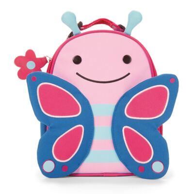 Imagem 3 do produto Mochila para bebe + Lancheira + Estojo + Garrafinha Zoo Borboleta - Skip Hop