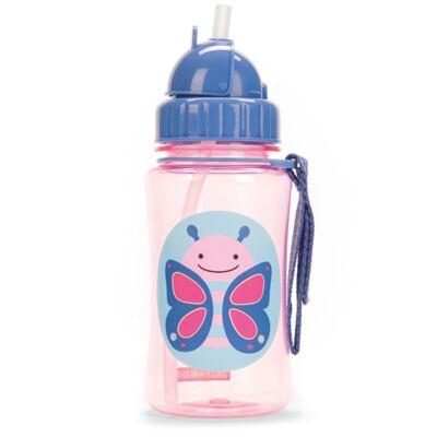 Imagem 5 do produto Mochila para bebe + Lancheira + Estojo + Garrafinha Zoo Borboleta - Skip Hop