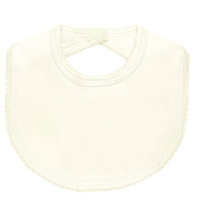 Imagem 4 do produto Pack: 2 babadores em Pima Cotton Supreme Prime Bear Marfim - Mini & Kids