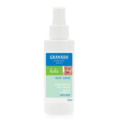 Imagem 4 do produto Kit com 1 sabonete + 1 Loção Hidratante + 1 Óleo Suave para bebê Erva-doce - Granado