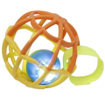 Imagem 1 do produto Baby Ball Luz & Som Laranja (6m+) - Buba