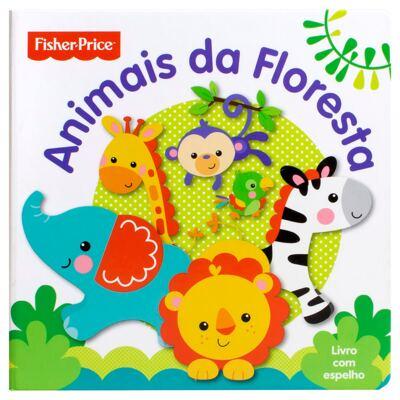 Imagem 1 do produto Livro infantil Animais da Floresta (12m+) - Fisher Price