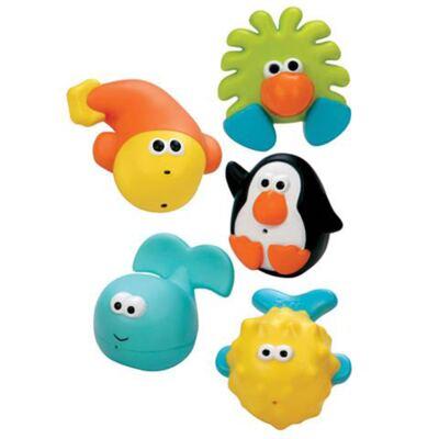 Imagem 1 do produto Conjunto com 5 Amigos do Banho - Sassy