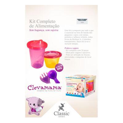 Imagem 4 do produto Kit Alimentação Completo - 24 peças - Clevamama