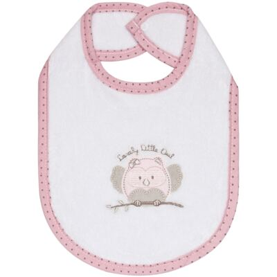 Imagem 1 do produto Babador atoalhado Corujinha - Classic for Baby