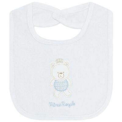 Imagem 1 do produto Babador atoalhado com bolsinho Urso Petit - Classic for Baby