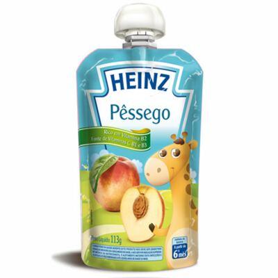 Imagem 1 do produto Papinha para bebe Pessêgo (6m+)  - Heinz
