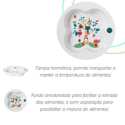 Imagem 3 do produto Prato com tampa Bee Fantasy (18m+) - Bébé Confort