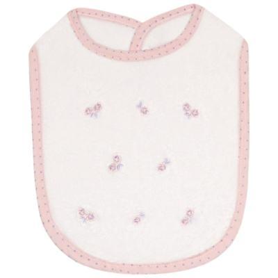 Imagem 1 do produto Babador atoalhado Rosinhas - Classic for Baby
