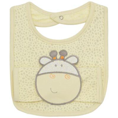 Imagem 1 do produto Babador com fraldinha de boca Giraffe Friend - Classic for Baby Enxoval