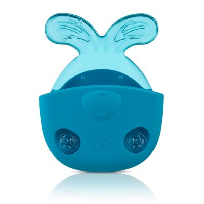 Mordedor Massage & Relax Rabbit Blue (4m+) - NUK