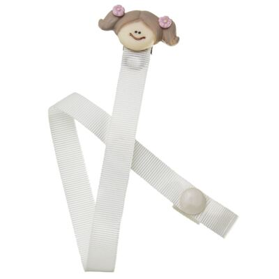 Imagem 1 do produto Prendedor de Chupeta Baby Girl - Roana