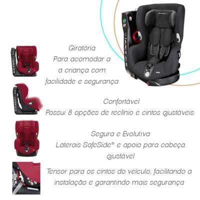 Imagem 8 do produto Cadeira Axiss Black Raven (12m+) - Bébé Confort