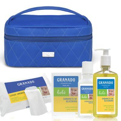Imagem 1 do produto Necessaire Farmacinha Colors Klein + Kit Granado Bebê - Classic For Baby Bags & Granado