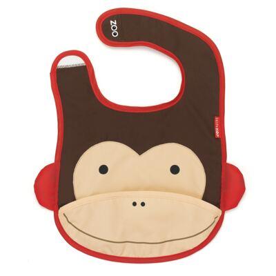 Imagem 1 do produto Babador para bebe Zoo Macaco - Skip Hop