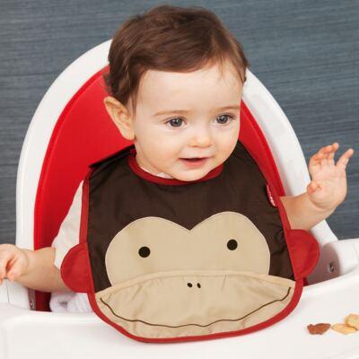 Imagem 2 do produto Babador para bebe Zoo Macaco - Skip Hop