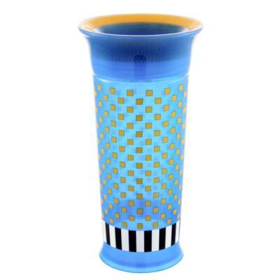 Imagem 1 do produto Copo Grow Up Grande Antivazamento Azul (18m+) - Sassy