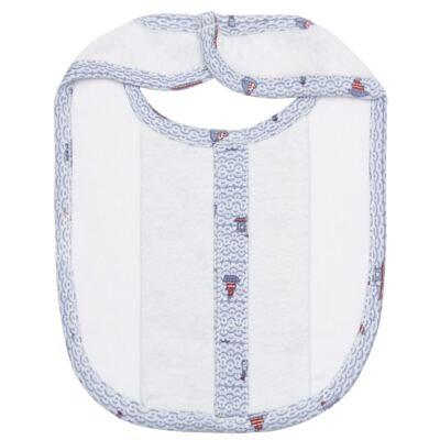 Imagem 2 do produto Babador atoalhado com bolsinho Boat - Classic for Baby