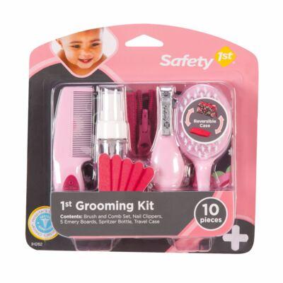 Imagem 1 do produto Kit de Higiene e Beleza Rosa 10 pçs (0m+) - Safety 1st