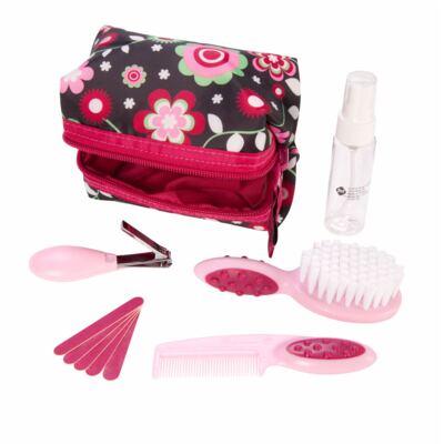 Imagem 2 do produto Kit de Higiene e Beleza Rosa 10 pçs (0m+) - Safety 1st