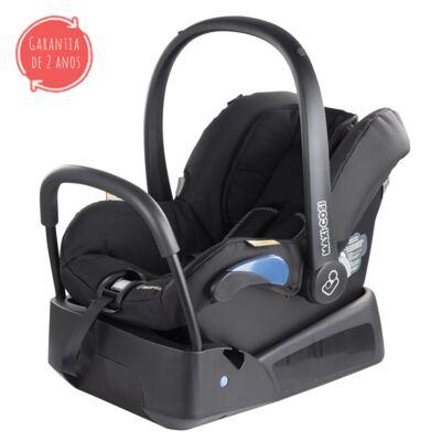 Imagem 2 do produto Travel System: Bebe Confort com Base Citi Black Raven Maxi-Cosi + Carrinho Zapp Xtra 2 Red Rumour Quinny