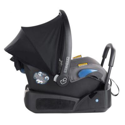 Imagem 4 do produto Travel System: Bebe Confort com Base Citi Black Raven Maxi-Cosi + Carrinho Zapp Xtra 2 Red Rumour Quinny
