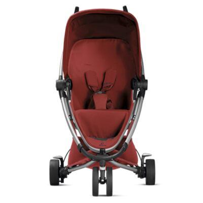 Imagem 8 do produto Travel System: Bebe Confort com Base Citi Black Raven Maxi-Cosi + Carrinho Zapp Xtra 2 Red Rumour Quinny