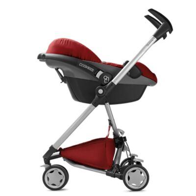 Imagem 10 do produto Travel System: Bebe Confort com Base Citi Black Raven Maxi-Cosi + Carrinho Zapp Xtra 2 Red Rumour Quinny