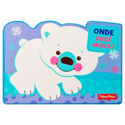 Imagem 1 do produto Livro infantil Onde Você Mora? (12m+) - Fisher Price